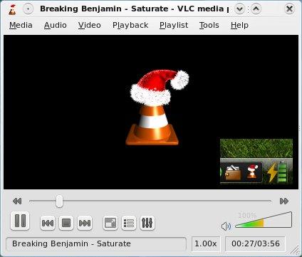 Felicitación de VLC